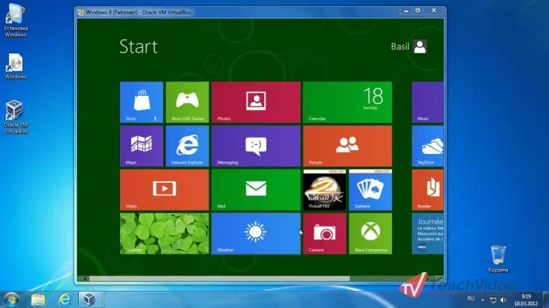 Знакомимся с Windows® 8 - Приложение Weather в Windows® 8