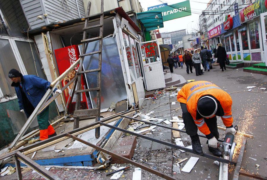 Власти города ликвидируют опасный для москвичей самострой, Москва, Сергей Собянин