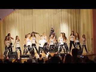 Отчётный детский концерт Школы танцев LiLU 22.12.2015
