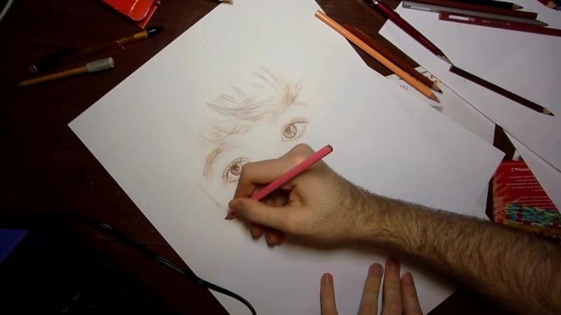 Пишем портрет - Omar Allaf - part 2