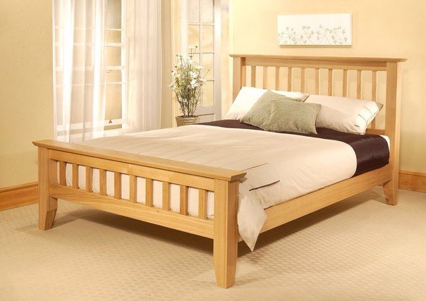 Кровать из массива дерева  новгороде