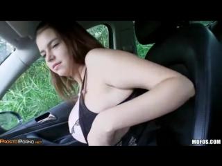 Попросила подвезти а ее трахнули