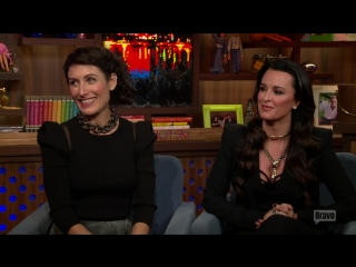 20151201 Watch What Happens Live - After Show - Lisa on Doing Sex Scenes