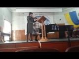 Л. Бетховен Соната для скрипки и ф-но №4 a-moll (скрипка - Калиновская И. Г.)