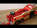 LEGO Technic Motorized MAN TGS Tow Truck