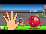 Fruit Finger Family (English for Kids)
