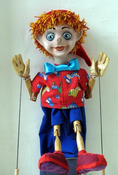 Как сделать кукла на гапите