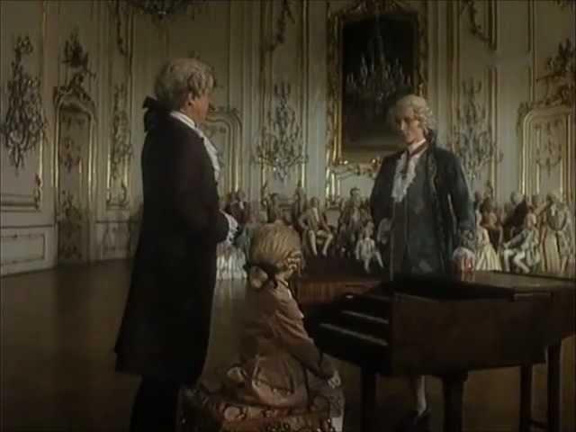 Маленький Моцарт. При императорском дворе