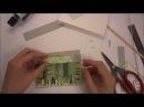 Открытки из обрезков лоскутные Скрапбукинг мастер класс Aida Handmade