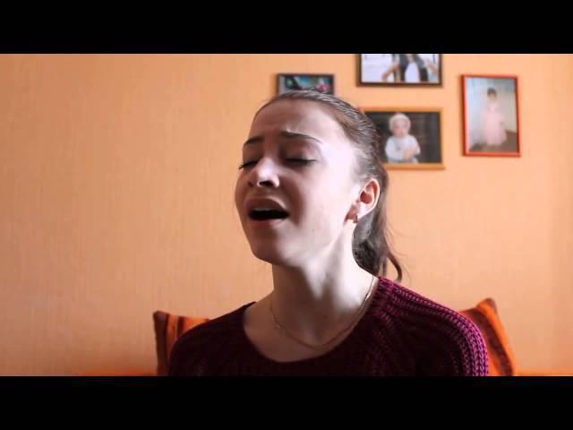 Аж мурашки по коже, девушка шикарно поет песню Фадеева танцы на стеклах,