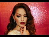 Old Hollywood Vintage Glam Makeup Tutorial