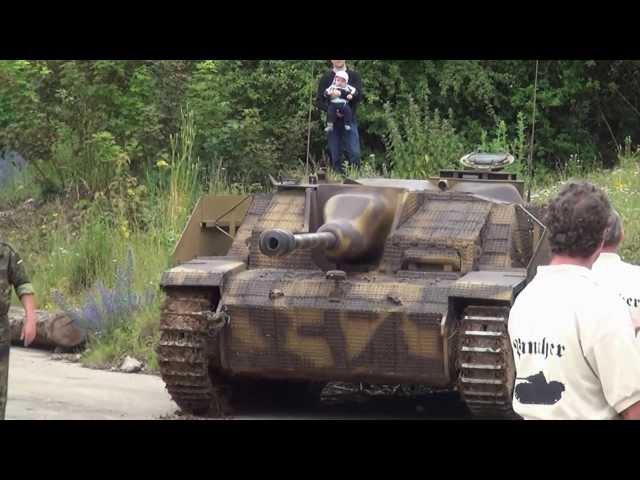 Stug III der WTD 41 Sturmgeschütz Original Sound