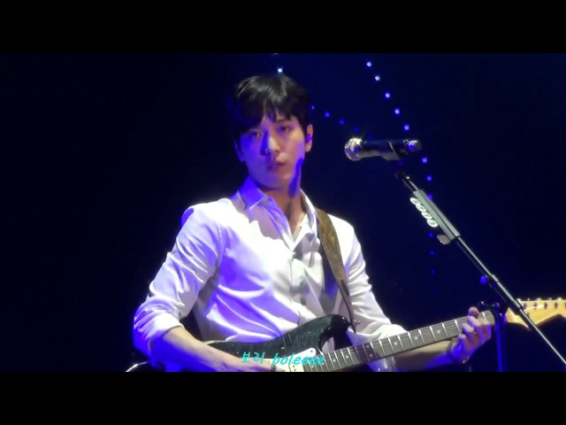 160219 CNBLUE Come Together in Taipei - Footsteps (정용화 Yonghwa focus)