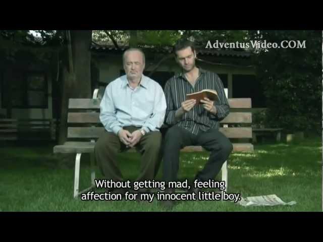 Притча про воробья. Отец и сын: