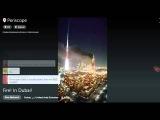 Пожар в Дубае Горит отель-небоскреб в Дубаях самые первые кадры 31.12.15