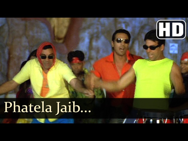 Phatela Jeb Akshay Kumar Arjun Rampal Paresh Rawal Aankhen Bollywood Hit Songs