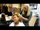 Корнелия Манго наращивает волосы в Москве