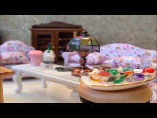 Тортик из белого шоколада и йогурта.  Рецепт миниатюрной японской кухни
