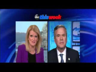 Jeb Bush: 'I'm the Only Guy Taking Trump On'