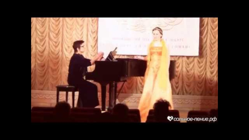 Алина Биянова Благодарю тебя за счастье прежних дней Д Николаев Романсиада 2015