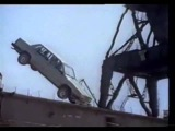 Volvo 760 crashtest video dropping from 14m height