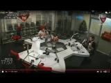 Радио Спорт ФМ   рассказ  Александры  Тартаковой  из Анкары  о матче сб России против Италии на ОИ квалификационном  турнире
