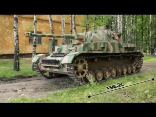 Немецкий средний танк Panzer 4 (Panzer kampfwagen 4)