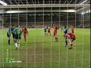ЛЧ 2001-02. 1-4 финала. Первый матч. Ливерпуль - Байер 3 часть