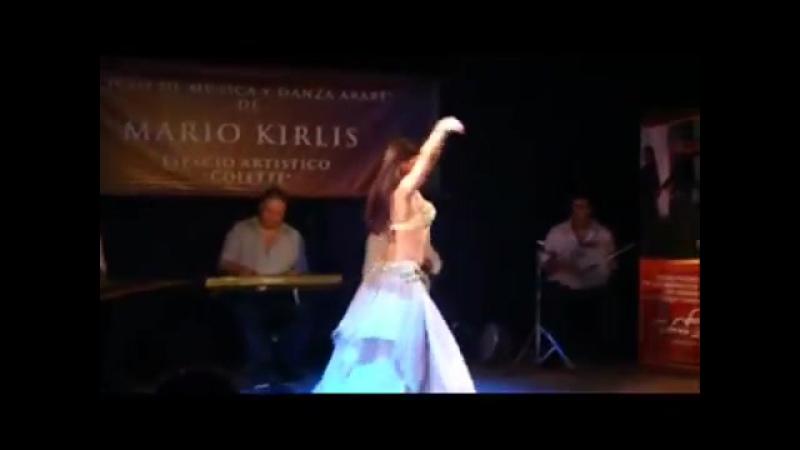 Samya Farhan ao lado de Mario Kirlis - Argentina(Buenos Aires)