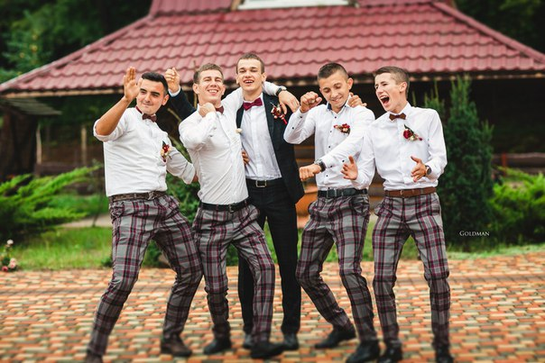Дуже стильне весілля