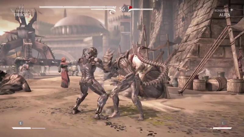 Mortal Kombat XL_Triborg Smoke New Brutality