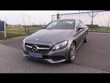 Mercedes-Benz C Class Coupe 2016 Start Up, Test Drive, In Depth Review Interior Exterior