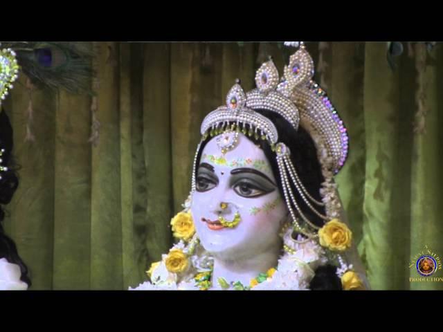 2016 Mayapur Purnima Sri Sri Radha Madhava Pushya Abhishek Celebration.
