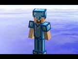 LEGO MINECRAFT STEVE with DIAMOND ARMOR! +INSTRUCTION