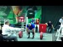 Тимошик Владимир тяга 301kg@110kg, Юниор