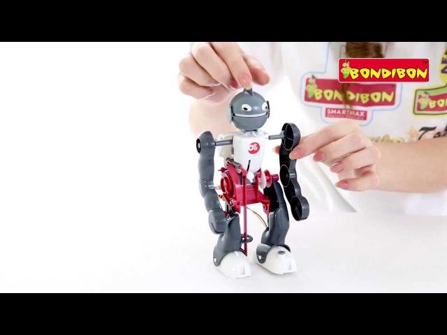 Опыты Науки от Буки BONDIBON Юный вундеркинд Робот-акробат