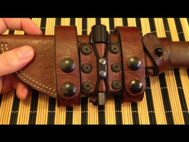 Hedgehog Leatherworks - Becker BK2 Leather Sheath by Hedgehog Leatherworks