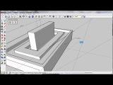 A002 Обзор Sketchup часть 2