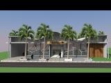 Google Sketchup Speed Build - Bank of Dubai - Concept