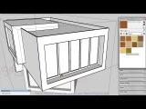 A007 SketchUp 3D моделирование в живую