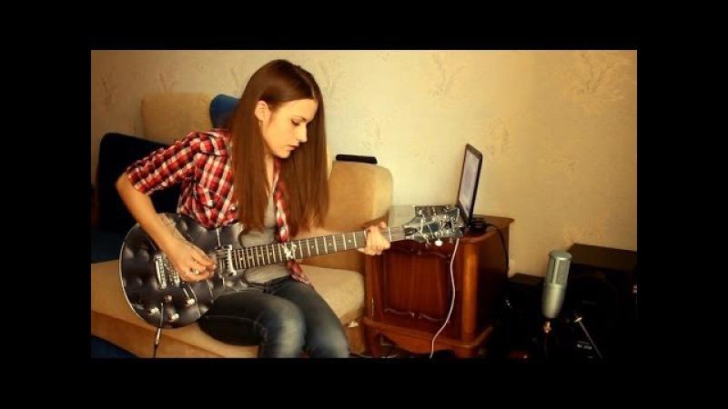 Slash - Anastasia (guitar cover by Marina Andrienko)