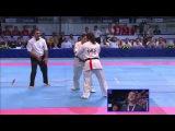 II KWU WC Final w-70kg. Kriazheva Irina (Russia) vs. Rika Hasegawa (Japan)