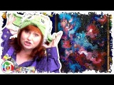 How to paint Galaxy of Dreams beginner step by step painting lesson of space