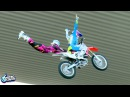 MUST WATCH World First Brother Sister Tandem FMX