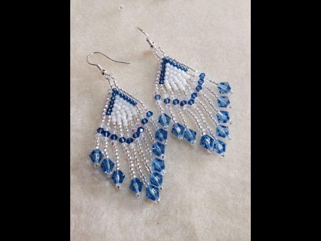 (Tutorial) Crystal Feather Earrings (Video 64)