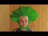 Фиксики. Как сделать шапочку-парик для костюма Папуса - YouTube