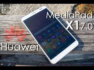 Huawei MediaPad X1 - обзор самого компактного 7-дюймового планшета от сайта Keddr.com