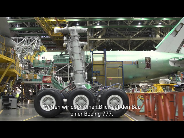 Insights into the B777-300ER construction