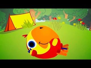 Развивающие мультики для детей от года Baby U - День и Ночь, обучающие мультфильмы д...