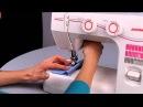 Уроки шитья Janome - выполнение петли (обычной лапкой)